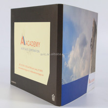 Factory supply 4.3 inch customized video brochure/video greeting card with lcd screen for business advertising/promotion