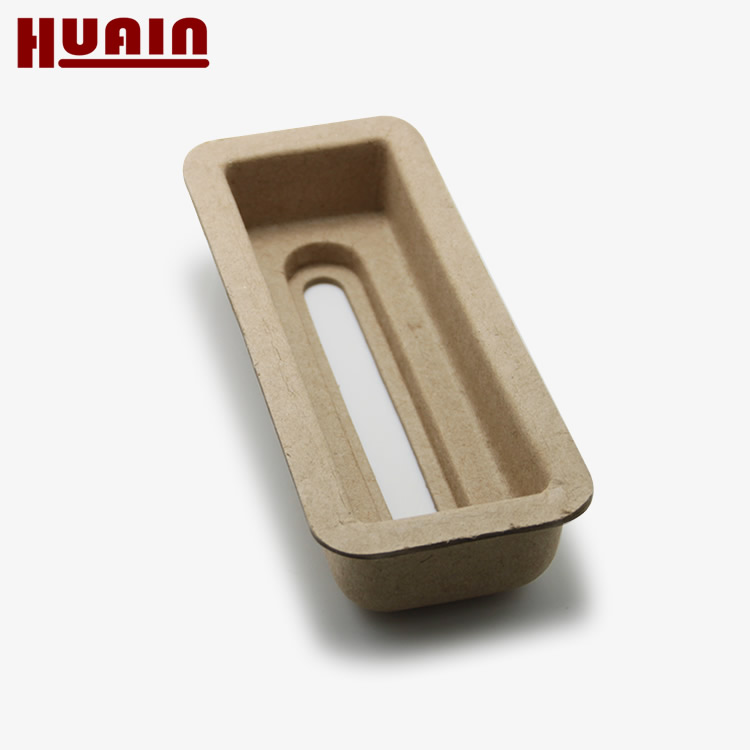 Eco-friendly Molded Paper Pulp Foam Inlay Tray Packaging
