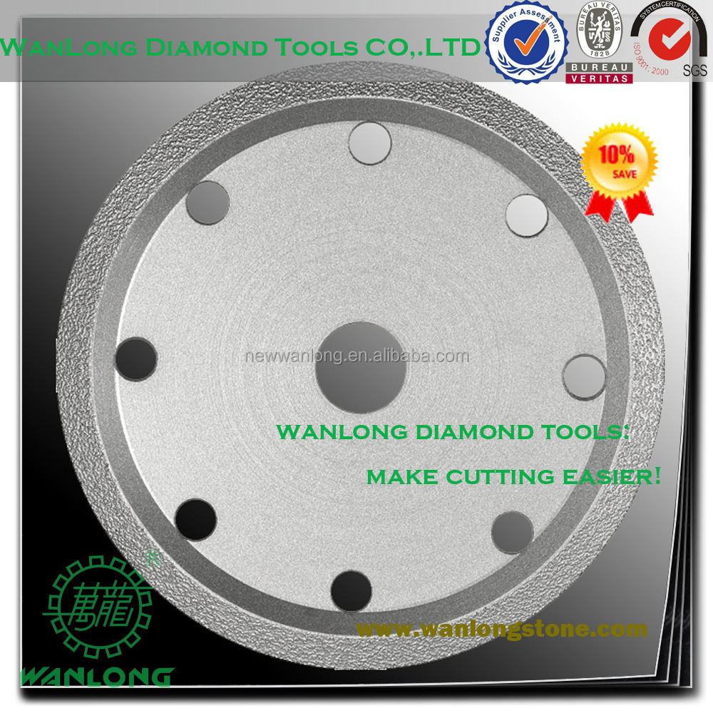 vacuum brazed 4 inch crack chaser blade for concrete grooving-crack chaser diamond saw blade for stone cutting