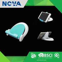 Promotional gift office table plastic smart phone stand