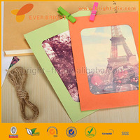 2014 China Supplier paper picture frame/photo frame key chains