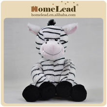 funny zebra stuffed plush animal
