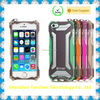 Hot Selling Aluminum Metal Waterproof Shockproof Case Skin Cover For 6plus/6s plus