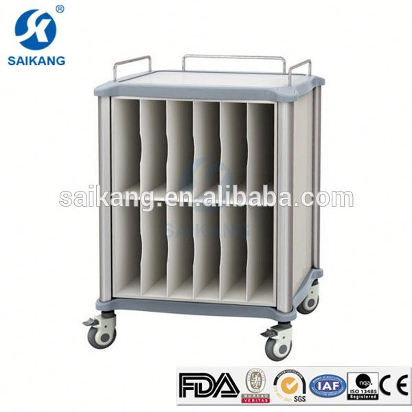 China Factory Comfortable Medical Emergency Trolley Equipment