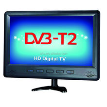 4K/8K/H.265 17 inch solar portable tv with dvb-t2 digital function