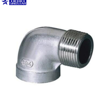 Male Female Reducing stainless steel 45 degree elbow