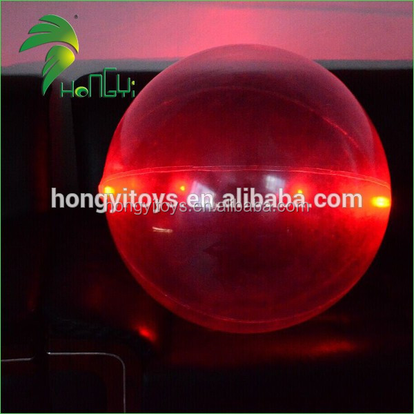 Hot Selling Lastest Design Round Ball PVC Inflatable Lighting Decorating / Inflatable LED Balloon For Advertising And Decoration