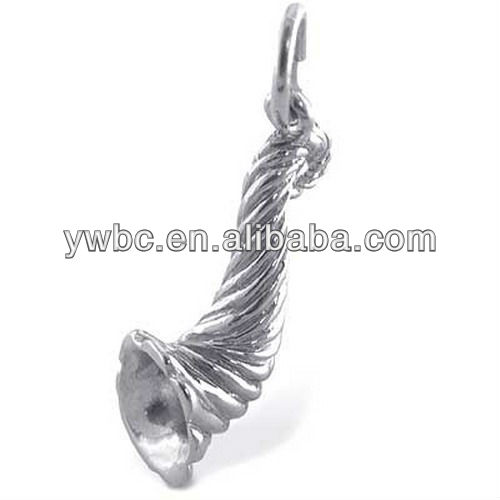 beautiful gift horn of plenty charm
