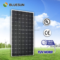 China best price high quality 300wp monocrystalline solar panel