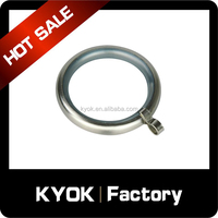 KYOK 10 years curtain rods factory ,curtain rings hooks clips ,plastic eyelet ring