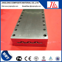 china supplier frp fiberglass dog bone mold frp pultrusion die for I-Beam frp pultrusion tooling