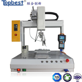 automatic iron soldering robot with spot soldering and drag soldering function