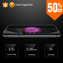 Factory Promotion Tempered Glass for iPhone 6 Transparent Screen Protector