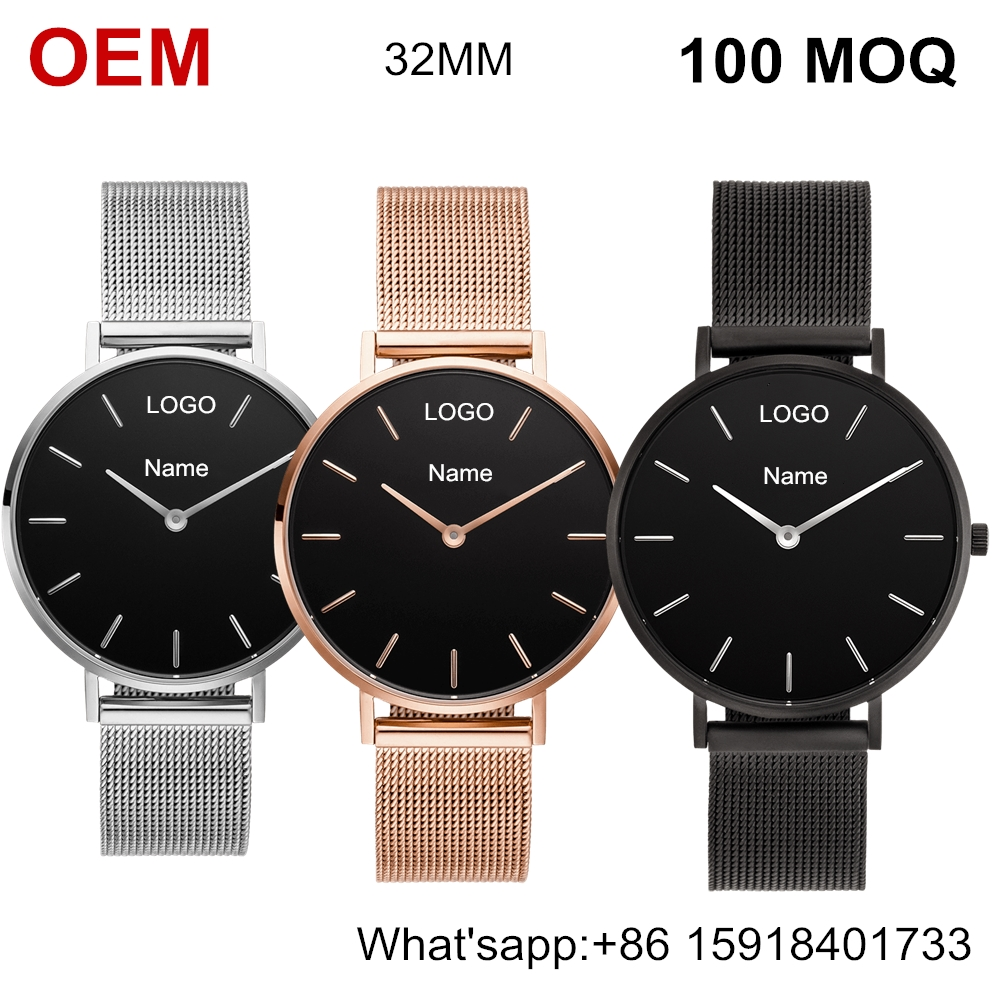 March Expo 32mm women watch brand your logo business consulting companies 2018 newest fashion luxury wristwatch ladies