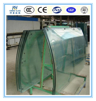 5-19mm curved tempered glass best curved toughened glass price