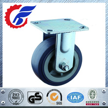 "Fixed Metal Top Plate 2"" Diameter Rigid Caster Wheel"