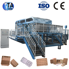 New technology high-end egg tray making machine /apple tray machine production line with best quality