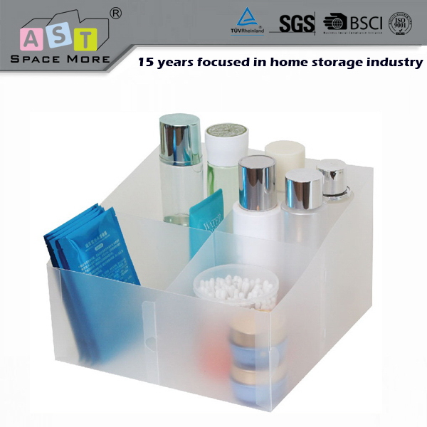 Top level most popular printed plastic cosmetic storage boxes