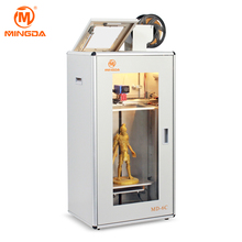 2018 MINGDA100% flat heating bed 3d printer big 300*200*500mm high precision industrial house 3d printer
