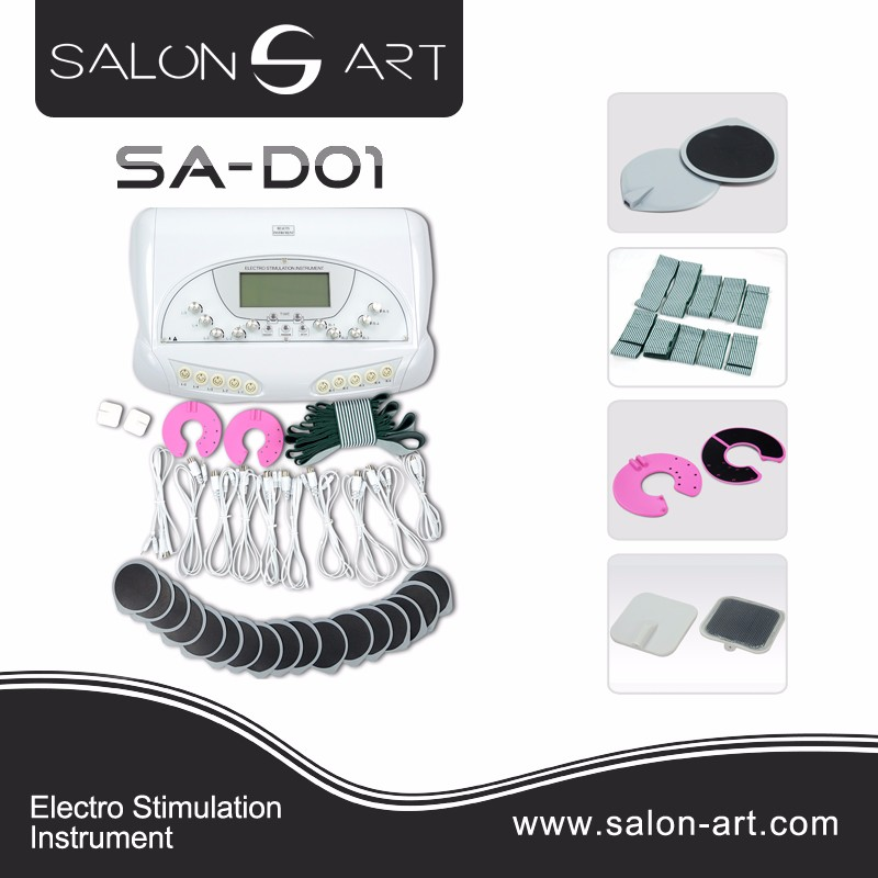 SA-D01 Best electric muscle stimulation weight loss / ems slimming body machine with electro stimulation