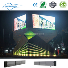 P16 Outdoor 45% Transparent Mesh Mobile led screen xxx china video
