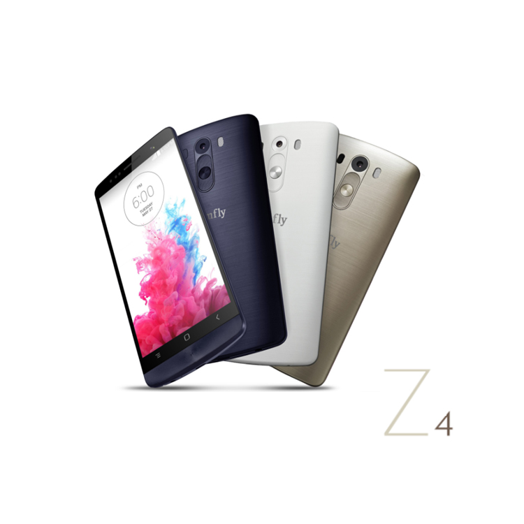 Android Smartphone Kimfly Z4 4.0 inch Capacitive Touch Screen Quad Band Kimfly Mobile Phones