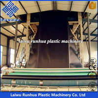 LDPE LLDPE HDPE EVA plastic blown film line geomembrane making machine