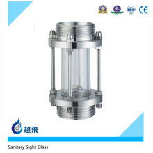 Sanitary Stainless Steel Tri Clamp Visual Mirror Sight Glass Oil Level Sight Glass Food Grade