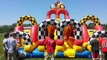 Adrenaline Moto inflatable obstacle courses