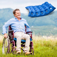 Air Inflatable Seat Cushion,Air Seat Cushion For Wheel Chair(Waffle Style 17''*17'')