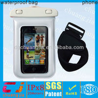 ipx8 certificate cheap waterproof phone cover case for iphone with armband
