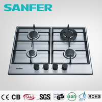 Built in 4 burner gas range protectors/gas cooker spare parts