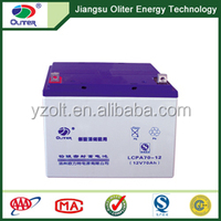 Best quality!AGM rechargeable deep cycle solar battery 12V 70AH