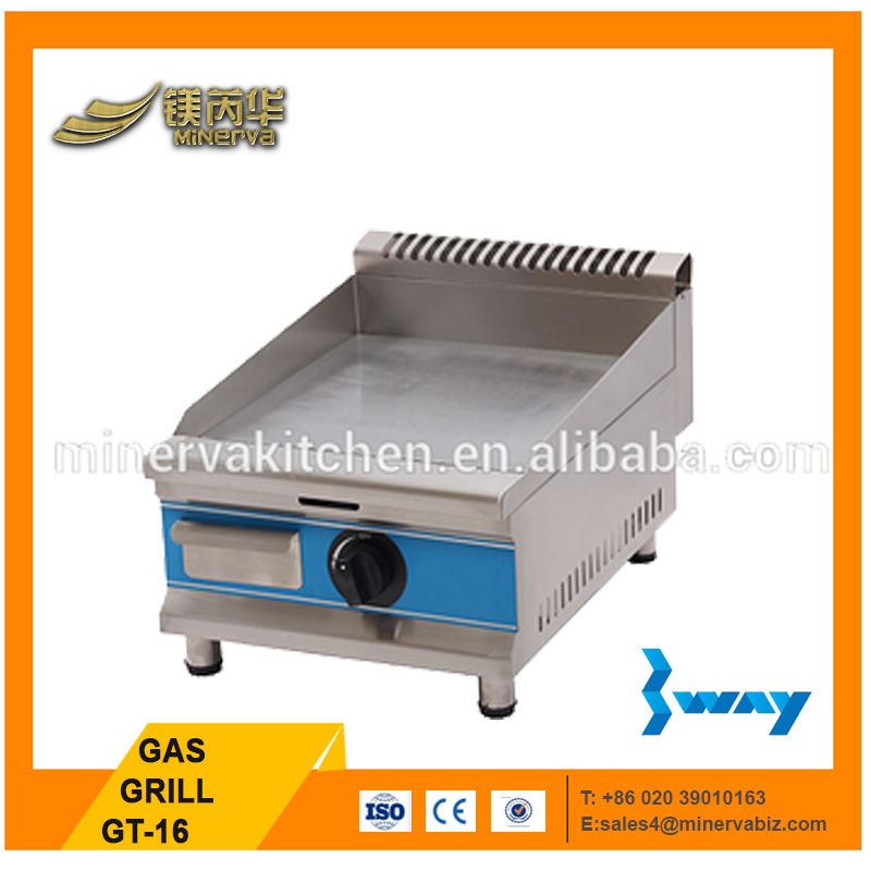 CE approval /restaurant kitchen equipment/beef/chicken/gas grill/griddle with good quality