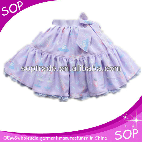 Purple pleated mini beautiful young girls in short skirts