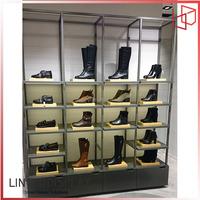 LTD New design European fashion lady shoes store display racks
