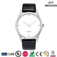 KYT sort of artistic super slim water resistant japan quartz stainless steel back hand man watch
