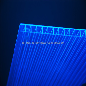6mm Skylight and Roofing Policarbonato Alveolare Polycarbonate Sheet Polycarbonate Hollow Sheet PC sheet