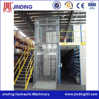 Safety stable hydraulic small storehouse elevating equipment for sale