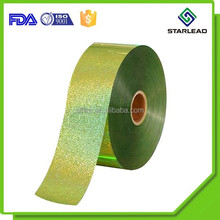 Spangle sequin polyester film