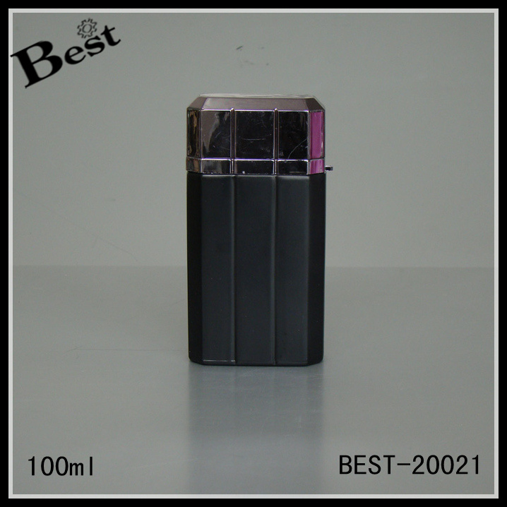 100ml credit card purple perfume bottle, pocket perfume bottle for men