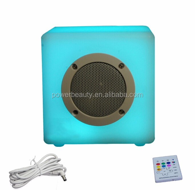 2016 Hot Selling Portable High Quality Wireless Bluetooth Speaker with led light