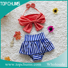 China supplier fashion baby children bikini pictures