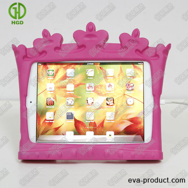 Wholesale factory price shockproof protective cover and case for ipad mini iCrown for kids