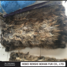 Factory Wholesale 100% Genuine Scrap Raccoon fur Plates In Cheap Price