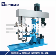Professional Factory ESPREAD ESDT-series Safety Hydraulic-lift System 0-1500rpm Double Shafts Disperser Oil Blending Machine