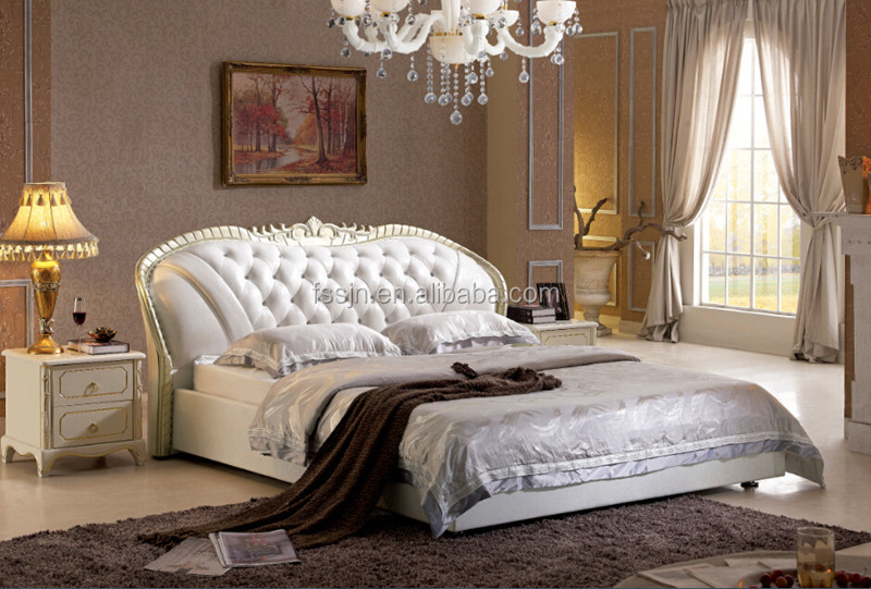 Latest bed design furniture sd1203 buy bed design for Latest model bed design