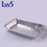 Hot! Disposable aluminum chafing dish full size aluminium foil container