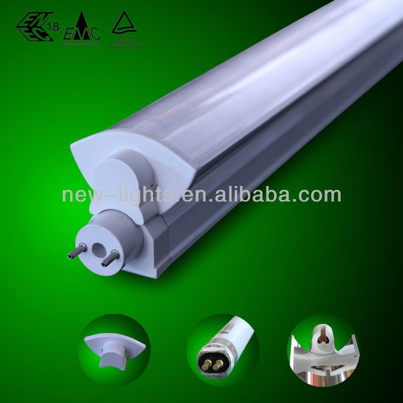 T8 Converter to T5 Fluorescent Light Fixture with PC cover