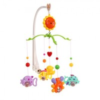 Baby Crib Bell Mobile Wind-up Music Bo Cute Rotate Lovely Twist Bed Toy Cartoon Gift Nursery 4624cm